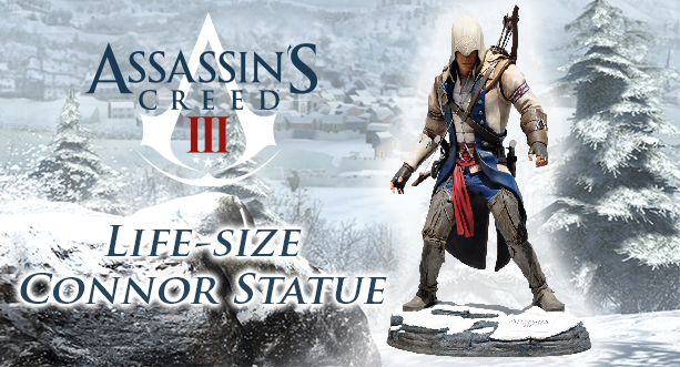 Real size Connor Statue