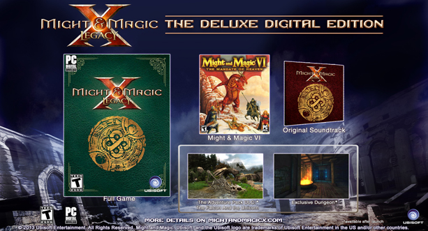 Might & Magic® X Legacy Deluxe Edition