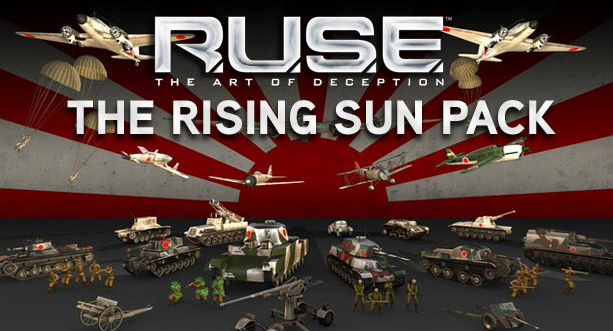 R.U.S.E.™ Pack Of The Rising Sun DLC