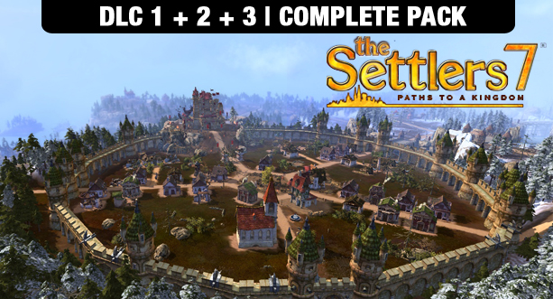 Bundle The Settlers 7: Paths to a Kingdom - DLC Pack 1, 2 & 3