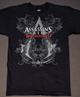 Assassins creed logo shirt.