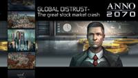 Anno 2070 - Global Distrust - Il grande crack in borsa