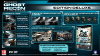 Tom Clancy's Ghost Recon Future Soldier - Edition Deluxe