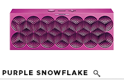 MINI JAMBOX Purple Snowflake