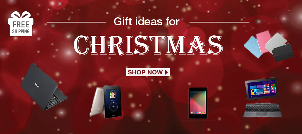 Gift Ideas for Christmas with ASUS.