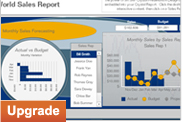 SAP Crystal Reports, mise à niveau