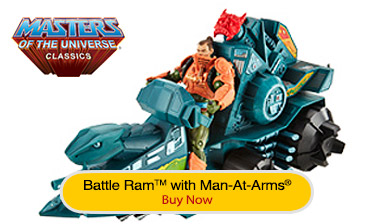 Battle Ram™ with Man-At-Arms®