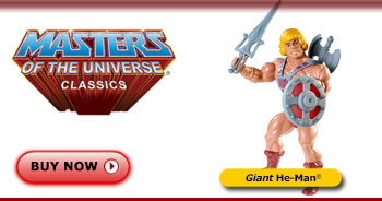 <em>Giant </em>He-Man® Figure