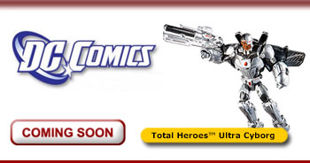 <strong><i>DC Comics</i> Total Heroes™ Ultra Cyborg</strong>