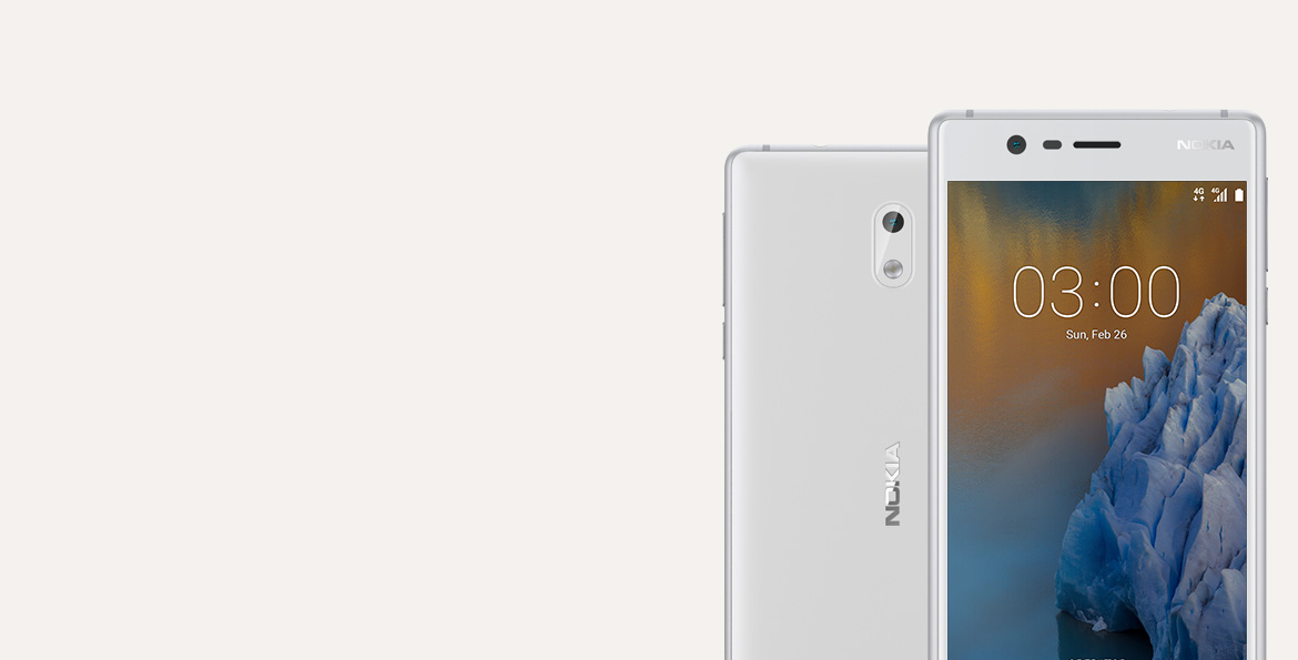 Get free Slim flip cover when you buy Nokia 3*