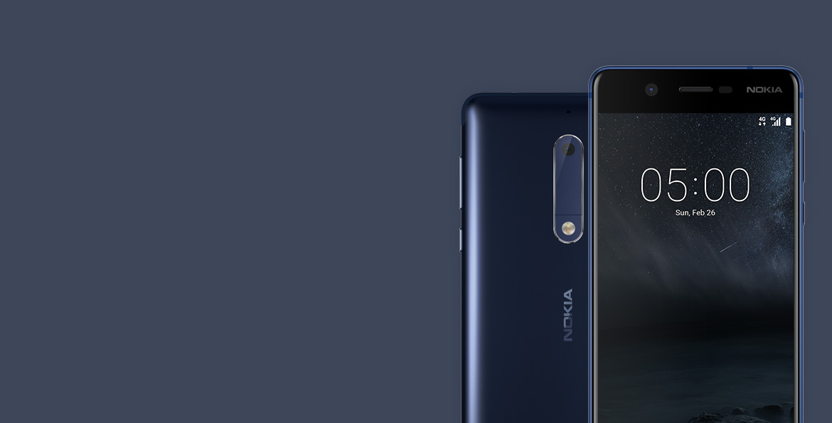 Get free Slim flip cover when you buy Nokia 5*