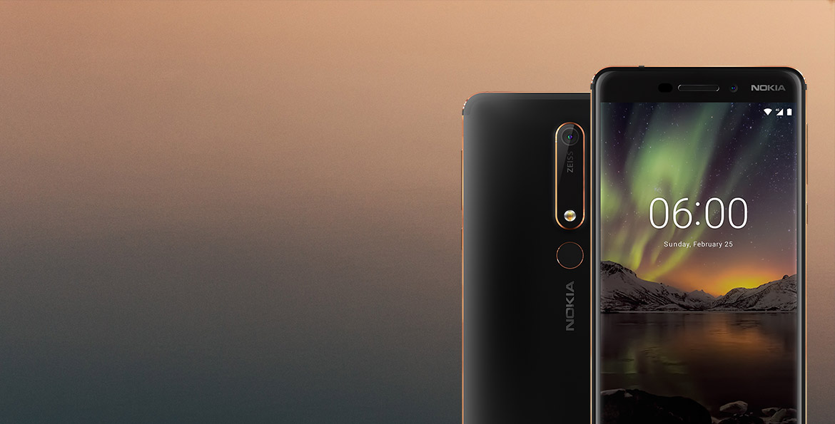 Buy the Nokia 6.1