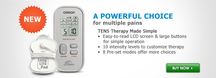 Electrotherapy TENS Pain Relief Pro Unit (PM3031)