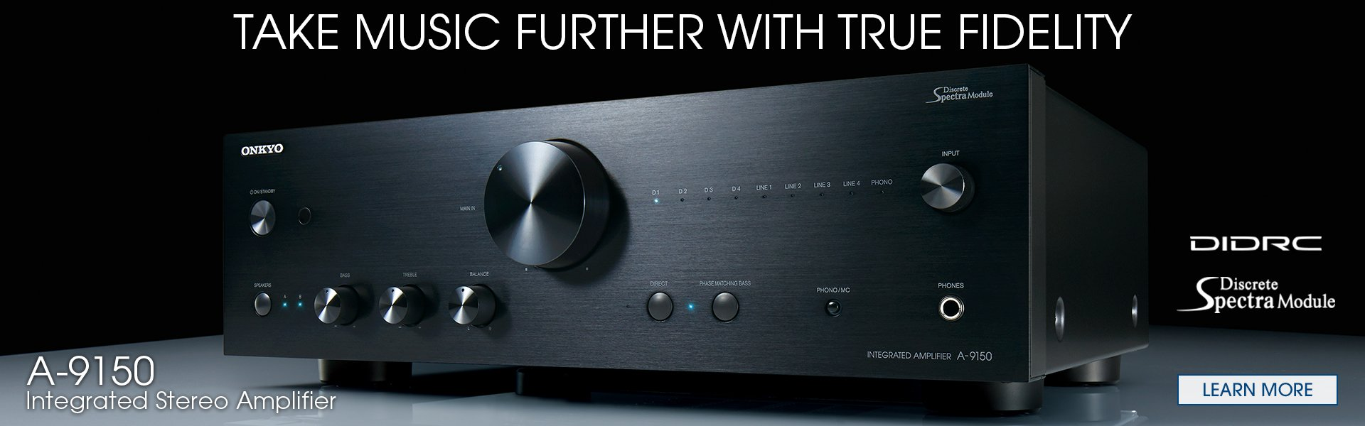 Take Music Further with True Fidelity
