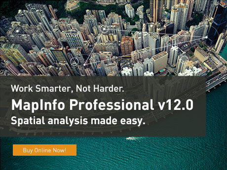 Click here to buy MapInfo Pro version 12!