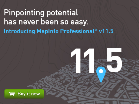 Click here to buy MapInfo Pro