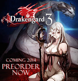 PREORDER DRAKENGARD 3 NOW TO LOCK IN ALL THREE BONUSES!