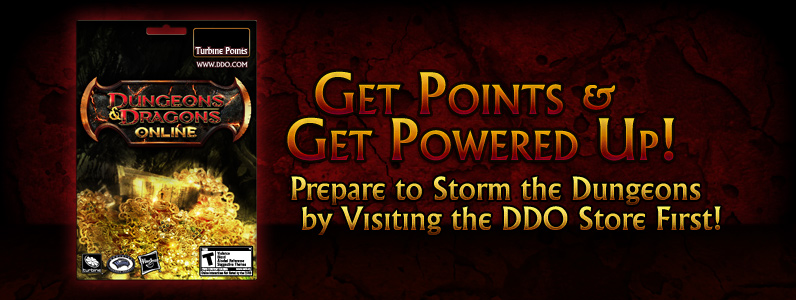 Dungeons and Dragons Online™ 11,000 Turbine Point Code