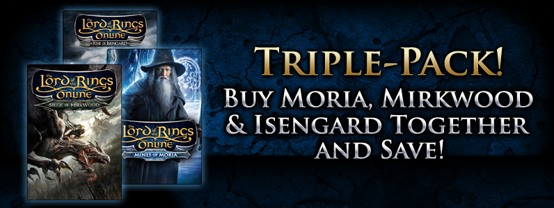 The Lord of the Rings Online™: Expansion Triple Pack - Digital Download