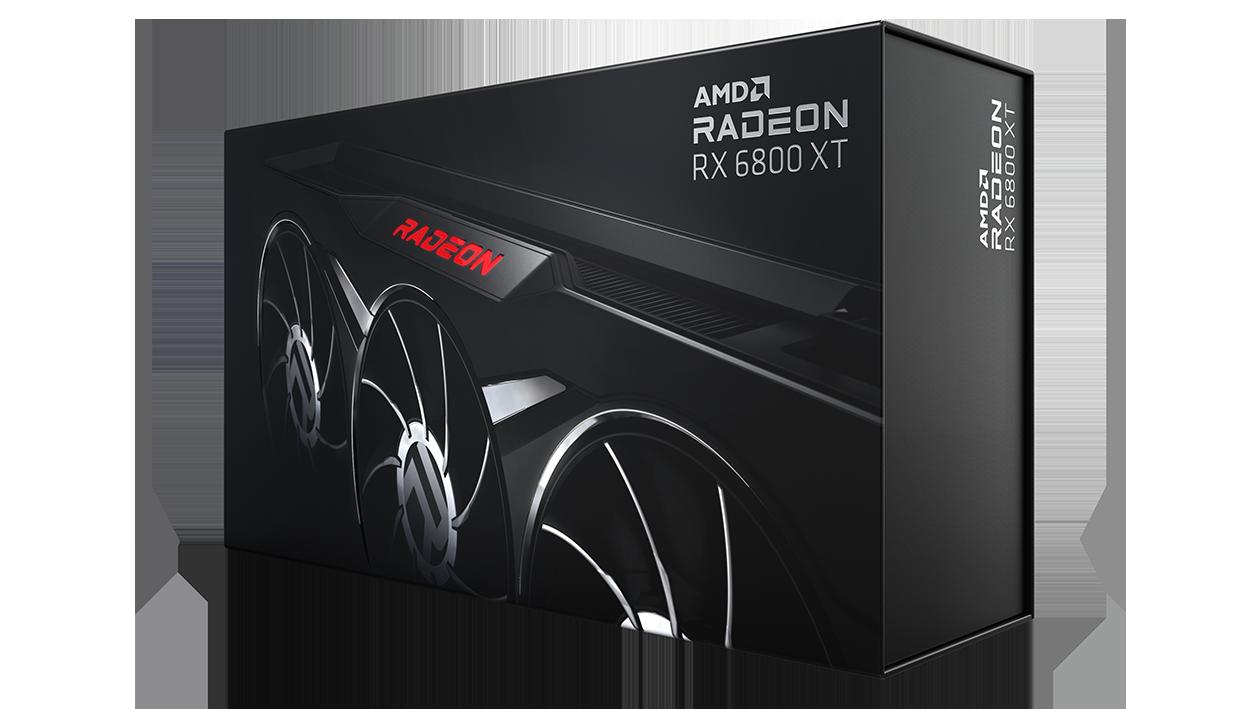 AMD Radeon™ RX 6800 XT Midnight Black Graphics Card image