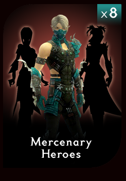 Mercenary Hero Complete Pack
