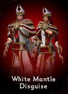 White Mantle Disguise