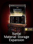 Xunlai Material Storage Expansion
