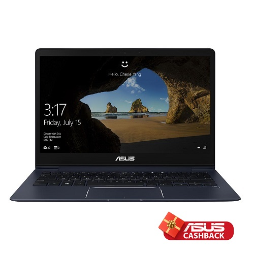 ZenBook 13 Royal Blue, Intel i5, 8GB, 256GB SSD, MX150