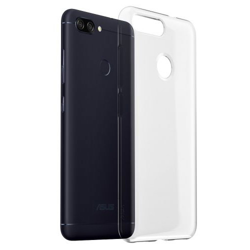 ZenFone Max Plus(M1)(ZB570TL)専用 Clear Soft Bumper