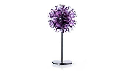 Coral Table Lamp (45cm) - Purple