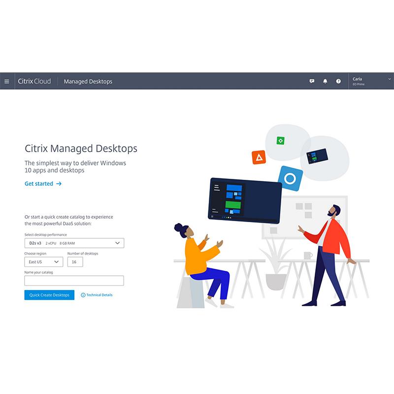 Citrix Virtual Apps and Desktops Standard