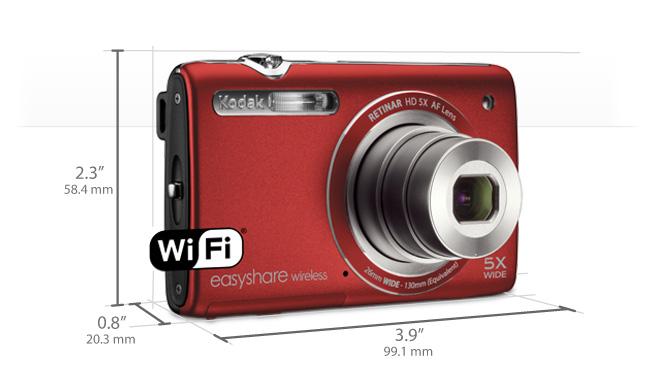 KODAK EASYSHARE Wireless Camera / M750 - Digital Cameras