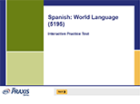 Spanish: World Language (5195), 90-Day Subscription