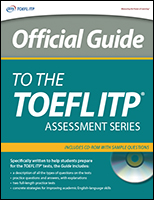 Official Guide to the TOEFL ITP® Test