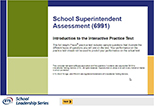 School Superintendent Assessment (6991), 90-Day Subscription