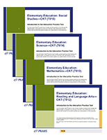 Value Pack: Elementary Education: Content Knowledge for Teaching (7811; Subsets 7812, 7813, 7814, 7815), 90-Day Subscription