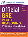 Official GRE® Verbal Reasoning Practice Questions Volume 1, Second Edition