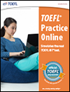5 lb. Book of toefl practice problems: book + online resources.