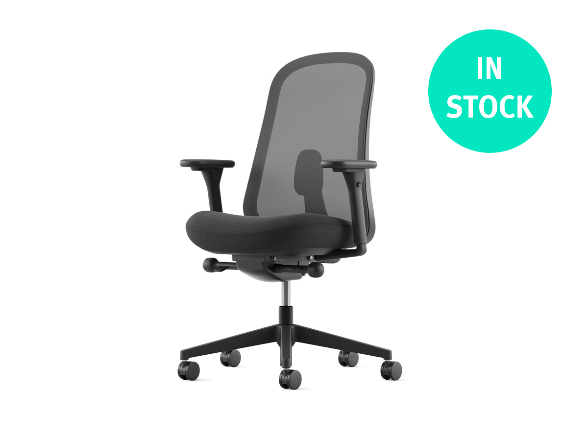 Lino Office Chair - Black