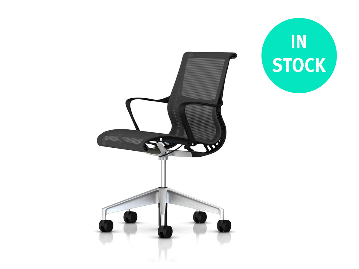 Setu Office Chair - Graphite H-alloy