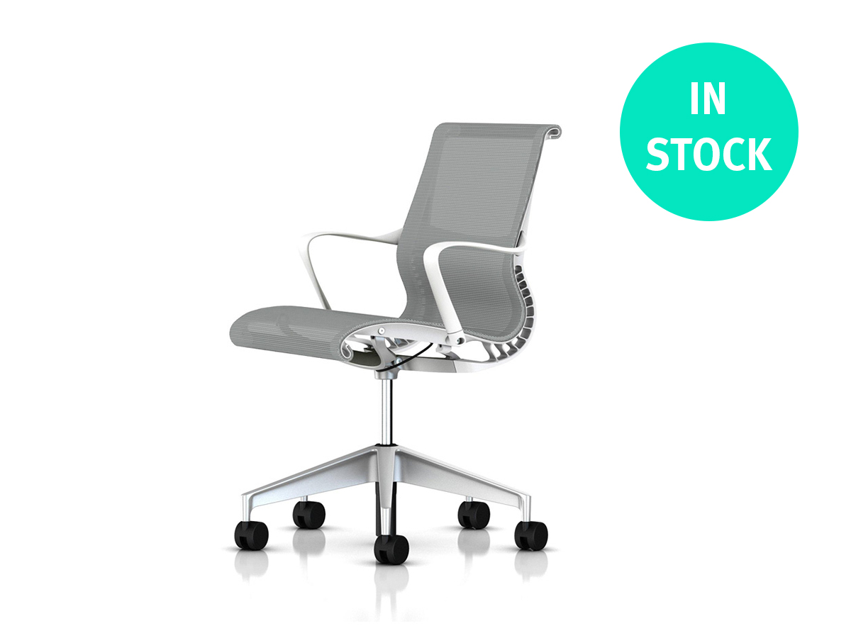 Setu Office Chair - Alpine White