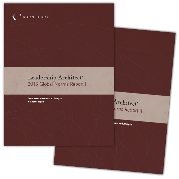 Leadership Architect® 2013 Global Norms
