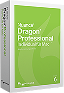 NEU Dragon Professional Individual für Mac, v6 Wireless