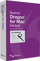 NEW Dragon for Mac Medical Wireless