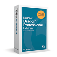 Dragon Professional Individual, v15 Upgrade (from DPI 14)