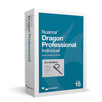 NEW Dragon Professional Individual, v15 Wireless