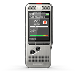 Philips PocketMemo Voice Recorder