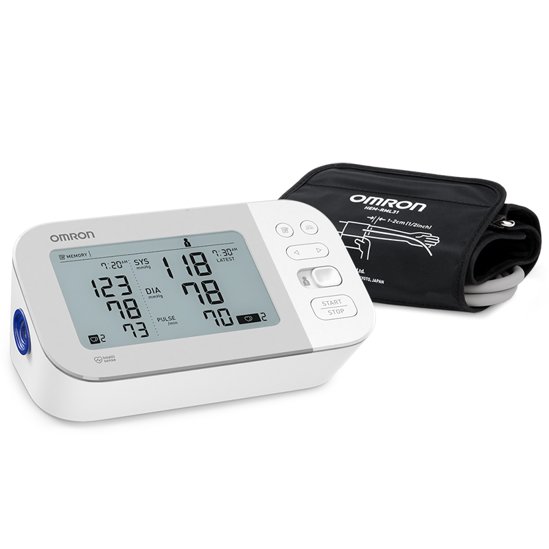Gold Wireless Upper Arm Blood Pressure Monitor