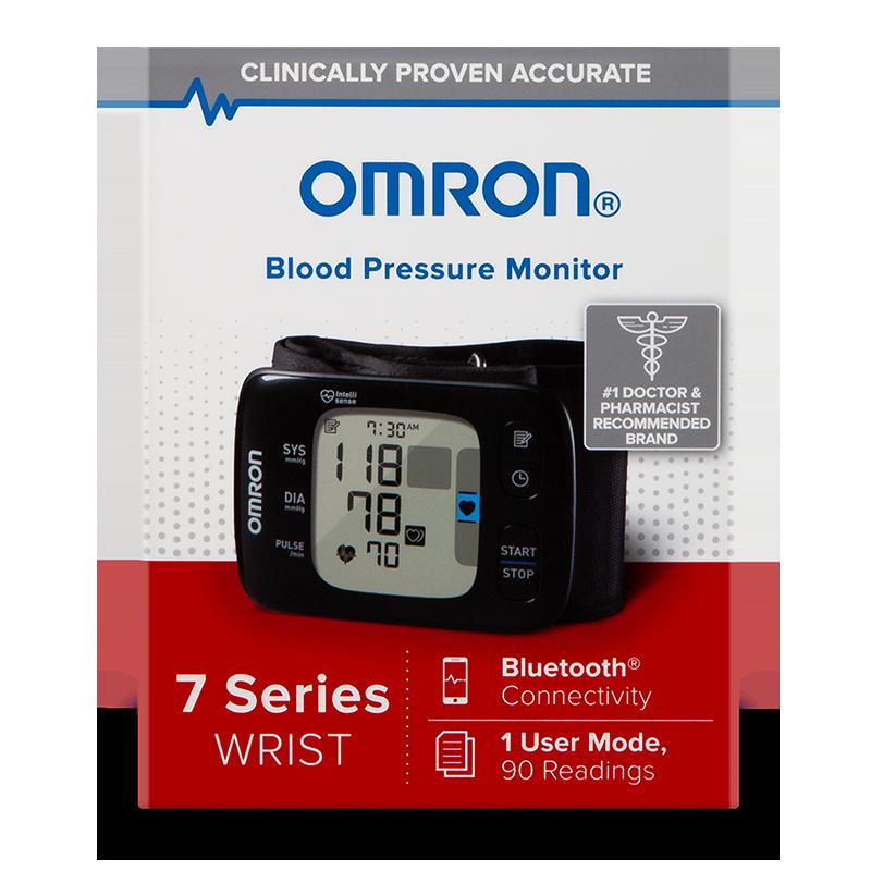 7 Series® Wireless Wrist Blood Pressure Monitor view 2