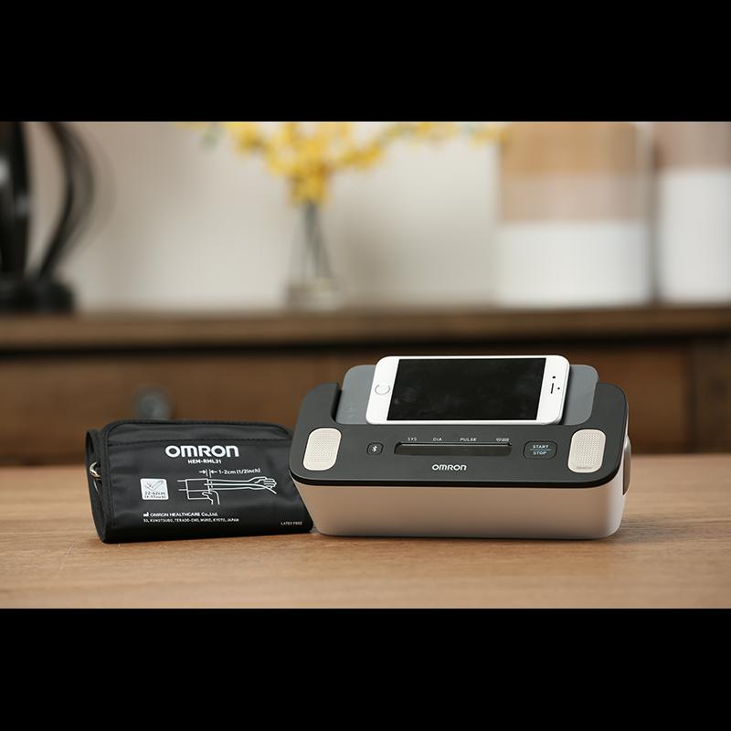 Complete™ Wireless Upper Arm Blood Pressure Monitor + EKG view 5